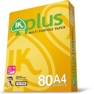 Buy IK PLUS MULTI PURPOSE COPY PAPER A4 80GSM