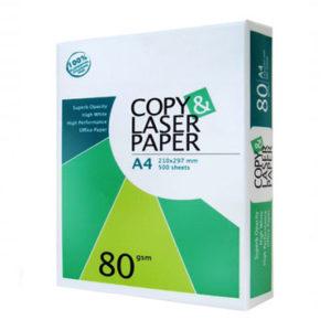 Buy LASER PAPER A4 80GSM
